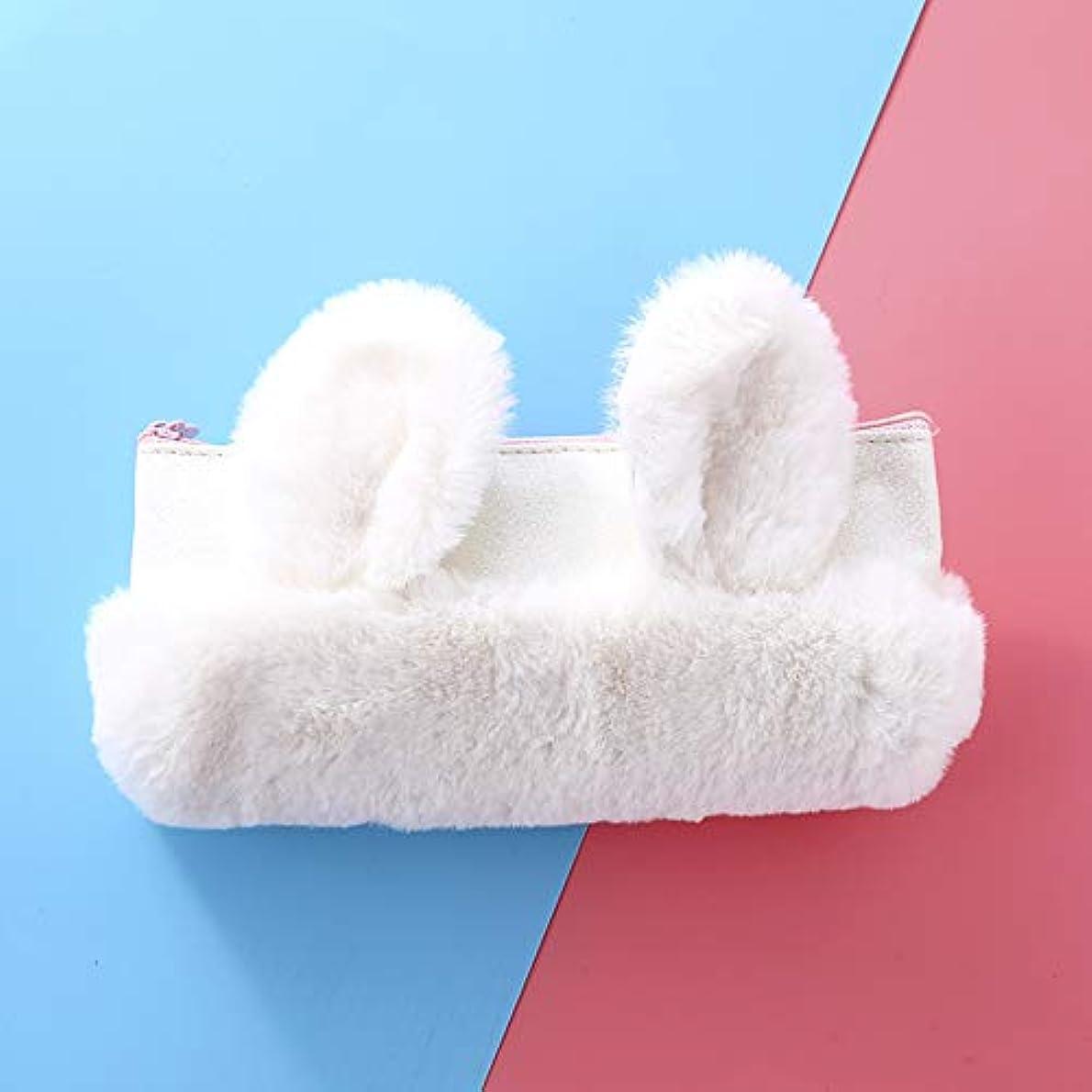 広範囲にどのくらいの頻度で降ろすDBMART ウサギの収納袋 筆袋 小物ケース カードケース 汎用ポーチ 化粧ポーチ ファスナー キラキラ 可愛い長耳 ふわふわ コンパクト 小型 軽量 出張?旅行向け 旅行用ポーチ アクセサリーケース 大容量 収納力抜群 (ホワイト)