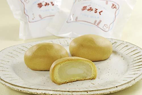 丹那牛乳の優しい甘さ 夢みるく 饅頭 (5個入) 御菓子処 雅心苑 国産 和菓子 お菓子 ギフト