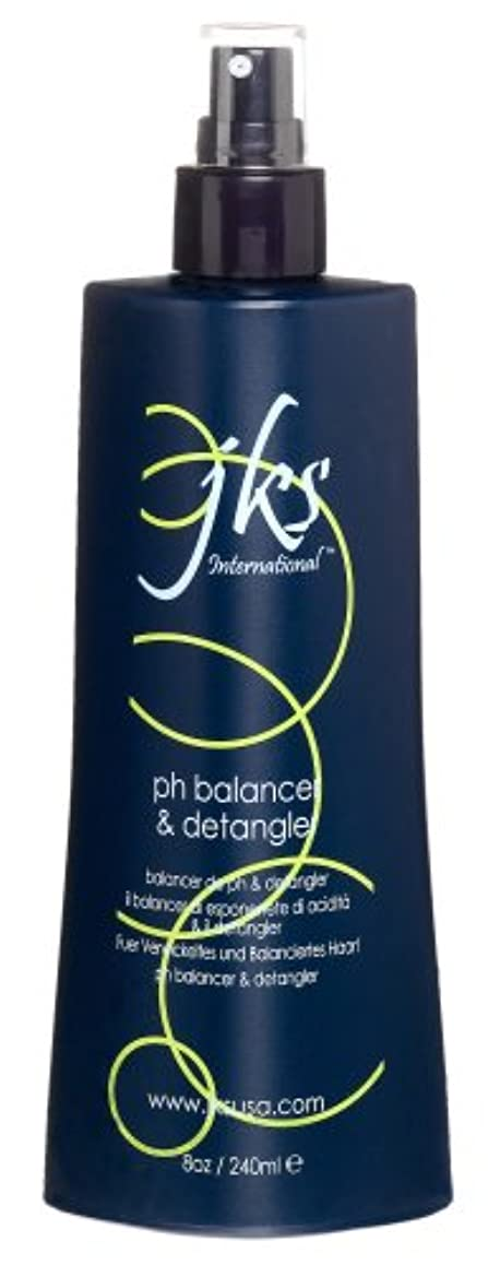 JKS JKSのPhバランサとDetangler、8オンスボトル 8オンス
