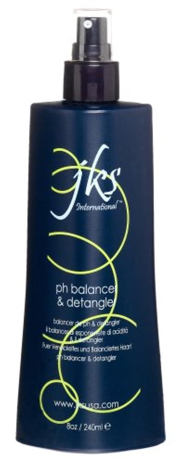 トランスペアレントキリスト地域JKS JKSのPhバランサとDetangler、8オンスボトル 8オンス