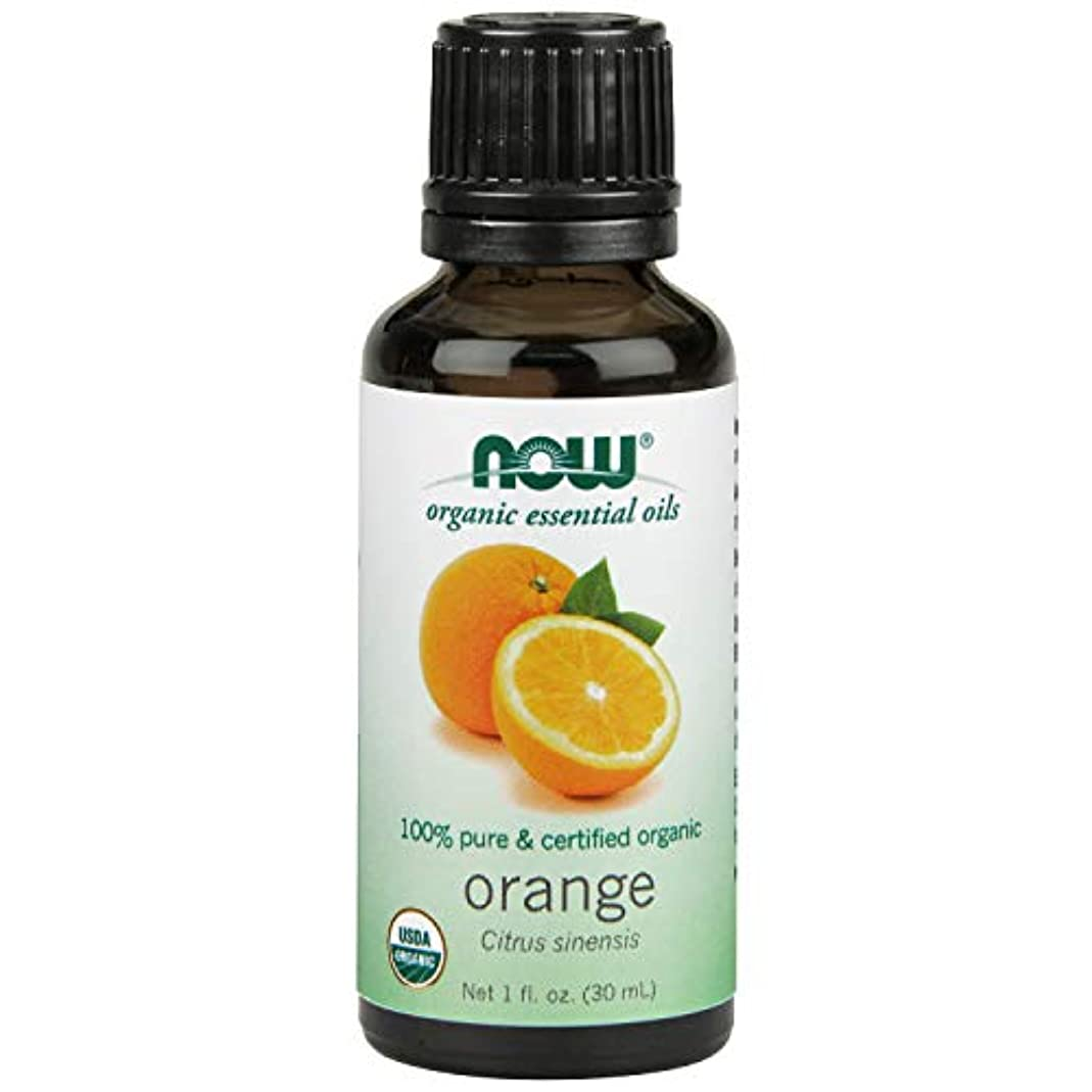 の中で秀でる調整ナウフーズエッセンシャルアロマオイル オレンジ 30ml 【正規輸入品】