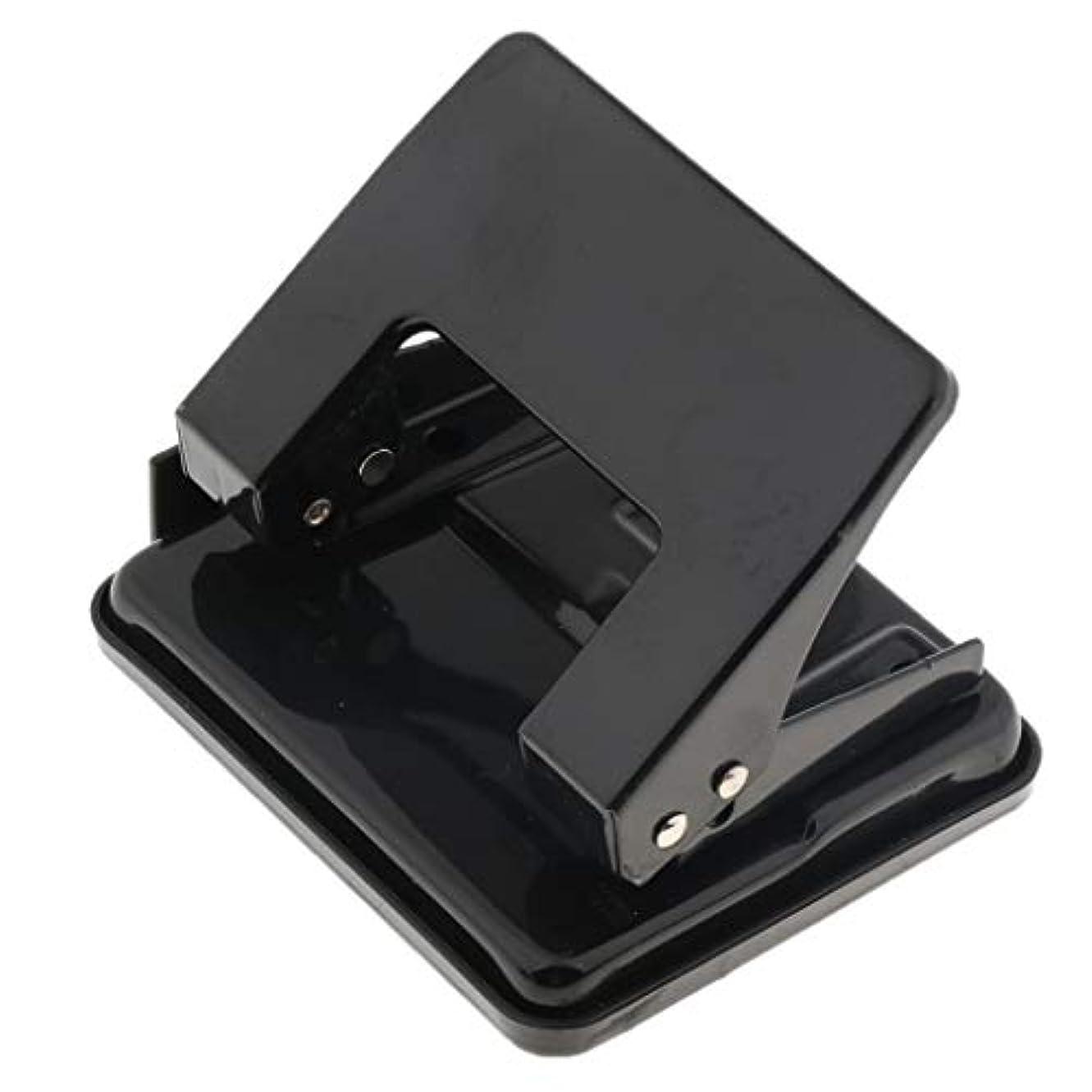 フランクワースリー事業内容ぎこちないF Fityle 穴あけパンチ 紙穴パンチ ブラック パンチャー ハンドツール 高品質 手持ち 文具