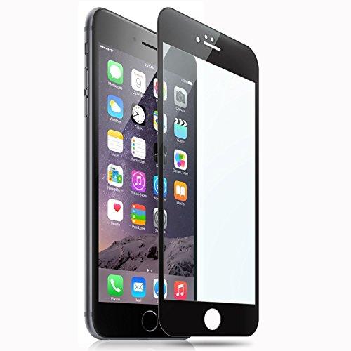SUPTMAX iPhone 6s 対応 iPhone 6s フィルム iPhone 6 保護フィルム 3D Touch 対応 0.26mm 2.5D 9H 強化ガラス 耐衝撃 自動吸着 99%高透過率 気泡ゼロ iPhone 6s フィルム ガラス全面 (ブラック)