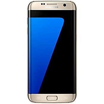(SIMフリー) Samsung サムスン Galaxy S7 Edge Dual G935FD (Dual デュアル SIM) (並行輸入品) (32GB, ゴールド)