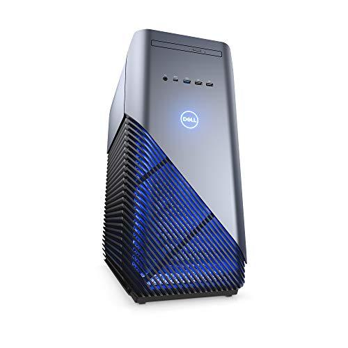 Dell ゲーミングデスクトップパソコン Inspiron 5680 Core i7 リーコンブルー 19Q33/Windows 10/16GB/256GB SSD+1TB HDD/GTX1070