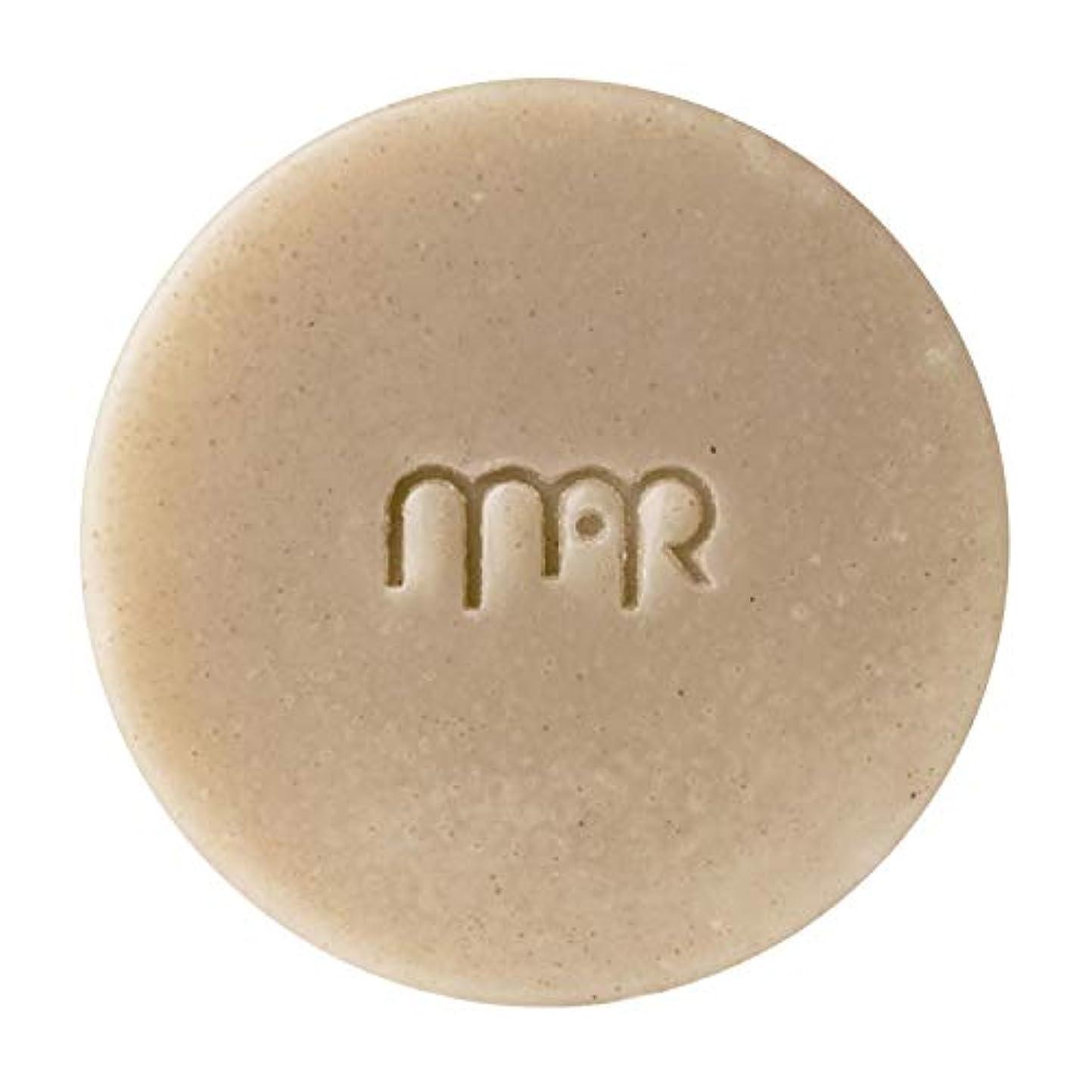 スキム皿有名なマールアペラル (MARapelar) オーガニッククレイ石鹸(大) 80g / 約30日分
