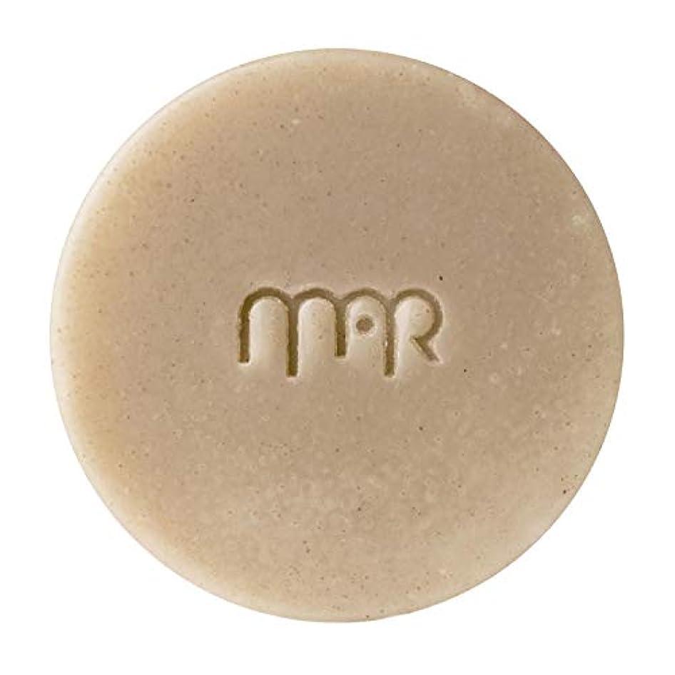 申し立てられたけがをするタックマールアペラル (MARapelar) オーガニッククレイ石鹸(大) 80g / 約30日分