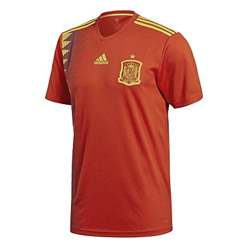 (アディダス) adidas サッカー スペイン代表 ホームレプリカユニフォーム DTY42 [メンズ] DTY42 CX5355 レッド/ボールドゴールド L