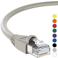 InstallerParts Ethernetケーブル CAT6Aケーブル UTP(シールドなしツイストペア) 35 Feet グレイ 4972