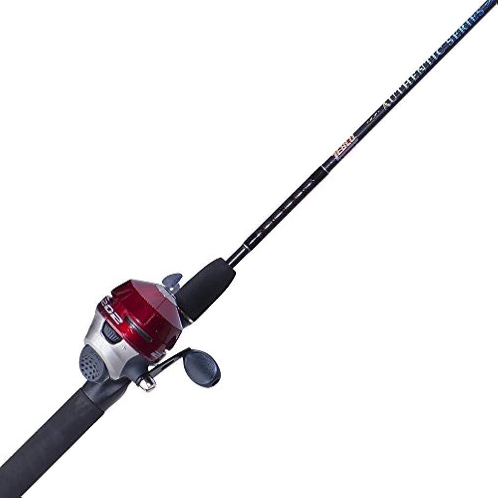 使用法妖精血まみれのZebco hook-line-sinker 202 KR / hlsc562 m SC釣りロッドとリールコンボ