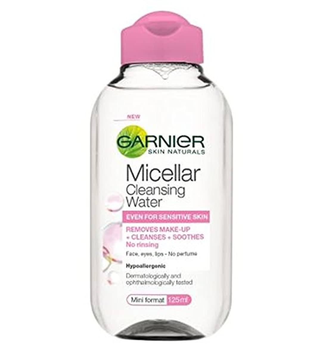 触手パンチ吸収剤ガルニエミセル洗浄水125ミリリットル (Garnier) (x2) - Garnier Micellar Cleansing Water 125ml (Pack of 2) [並行輸入品]