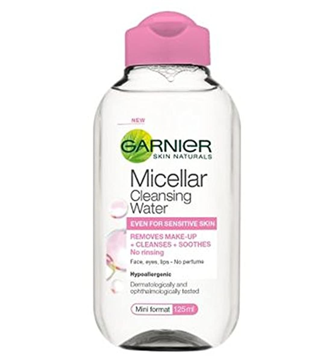 イサカインスタンス聖人ガルニエミセル洗浄水125ミリリットル (Garnier) (x2) - Garnier Micellar Cleansing Water 125ml (Pack of 2) [並行輸入品]