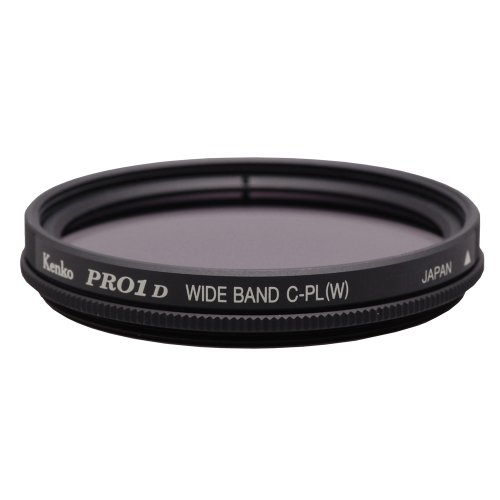 Kenko PLフィルター PRO1D WIDE BAND サーキュラーPL (W) 43mm コントラスト上昇・反射除去用 513422