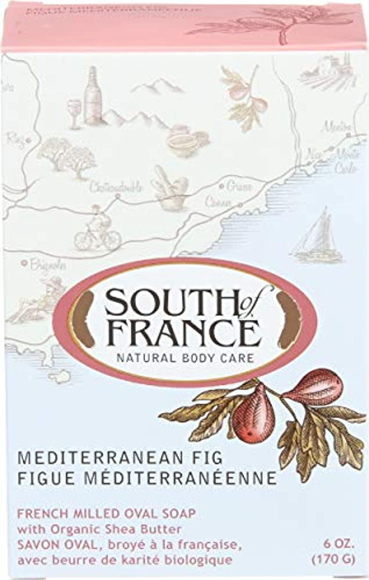 拘束するで出来ている振る舞うSouth of France - フランスの製粉された野菜棒石鹸の内陸のイチジク - 6ポンド