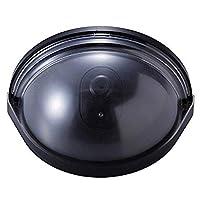 ダミーカメラ ドア用 防犯ダミーカメラ 防犯カメラ ダミー 屋内 簡単取付け 人が近づくと光が点滅 ドアに挟む