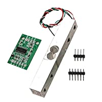 P Prettyia 圧力センサ 圧力計 HX711ADロードセル付き 重量センサー    - 1kg