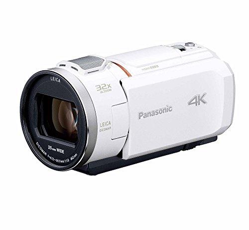 パナソニック 4K ビデオカメラ VX1M 64GB あとから補正 ホワイト HC-VX1M-W