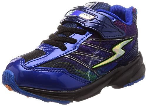 b28d73663b28b  スーパースター  運動靴 マジック 幅広 16-24.5cm(0.5cm有) 3E キッズ 男の子 SS J886 マルチ 22.0 cm 「バネの チカラ。」子どもたちの「速く走りたい」という想い ...