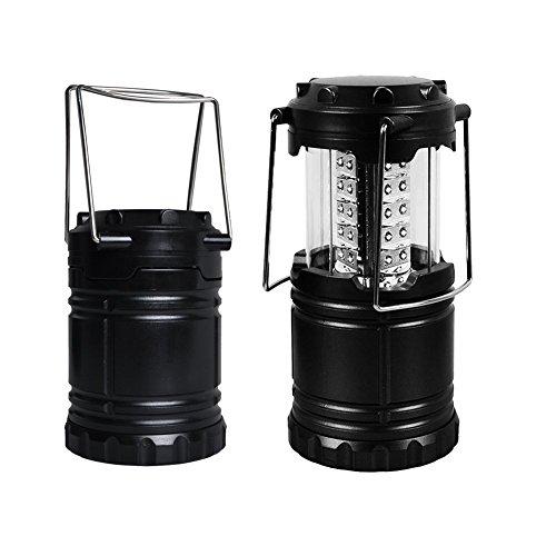 JL Future LEDランタン LEDライト 防滴 30LED スライド式 強力 ランタン 最強 ライト 照明器具 作業灯 防災グッズ 明るさ フック 全面発光 アウトドア レジャー 防災 登山 (ブラック)