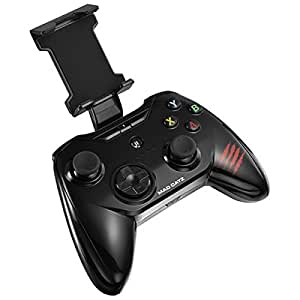 マッドキャッツ 【iPad/iPhone対応】ワイヤレスゲームパッド[Bluetooth・iOS] C.T.R.L.i Mobile Gamepad ブラック MFi認証 MC-CTRLI-BKZ