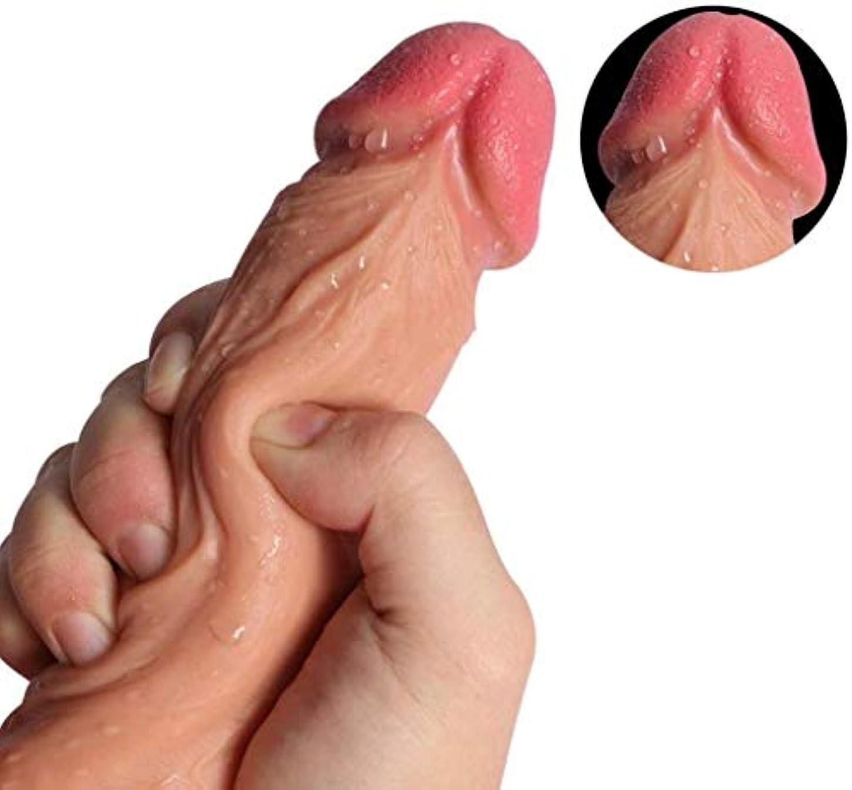 法律レンチ電報マッサージハンズフリープレイ用吸盤付き超柔らかい現実的な玩具、初級トレーナー - 初心者のための適切な