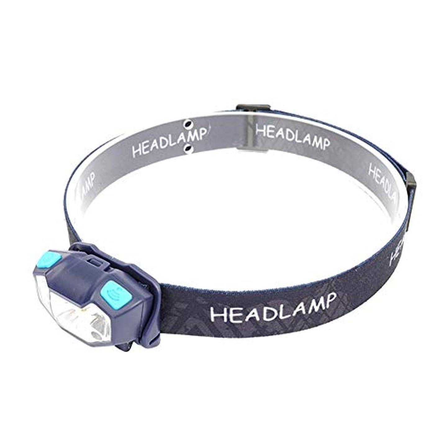 仲介者失業者豊富なvolflashy ヘッドランプ Q5 LED ヘッドライト USB 充電式 3モード 防水 モーション センサー キャンプ トーチ Exploration Beauty TM-045