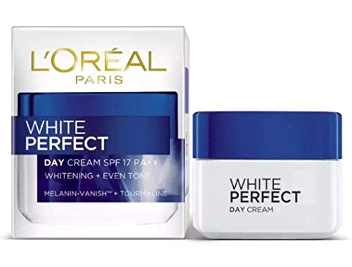 コンテンポラリーウォルターカニンガム連想L'OREAL PARiS WHITE PERFECT DAY CREAM WHITE+EVEN TONE 【SPF17 PA++】 50ml [並行輸入品]
