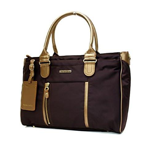 PROGRES(プログレ)クーロンヌ ビジネスバッグ(1ルーム A4対応 PCポケットあり) 28023ブラウン