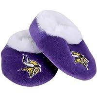 Minnesota Vikings Logo Baby Bootie Slipper Extra Large