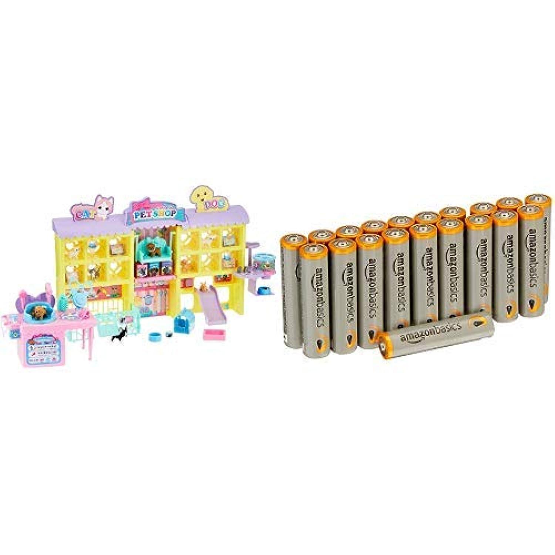 【電池付き】リカちゃん わんにゃんトリマー にぎやかペットショップ
