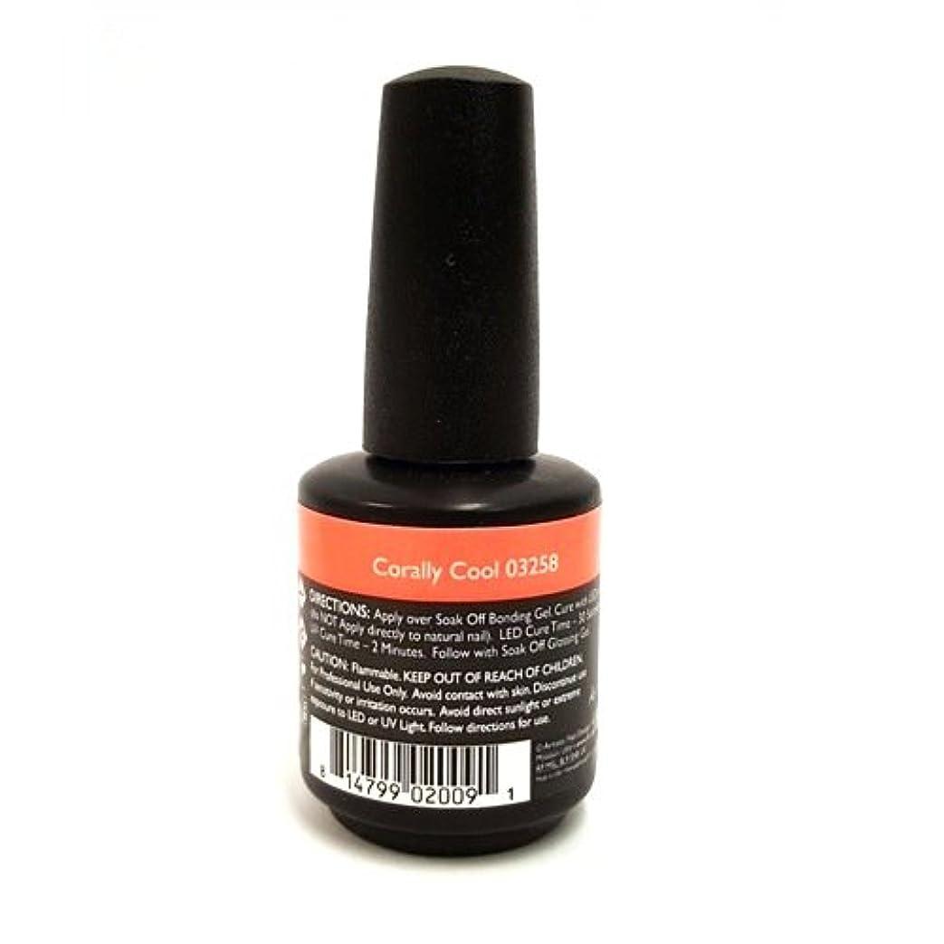 スコットランド人調整可能冒険Artistic Colour Gloss - Corally Cool - 0.5oz / 15ml