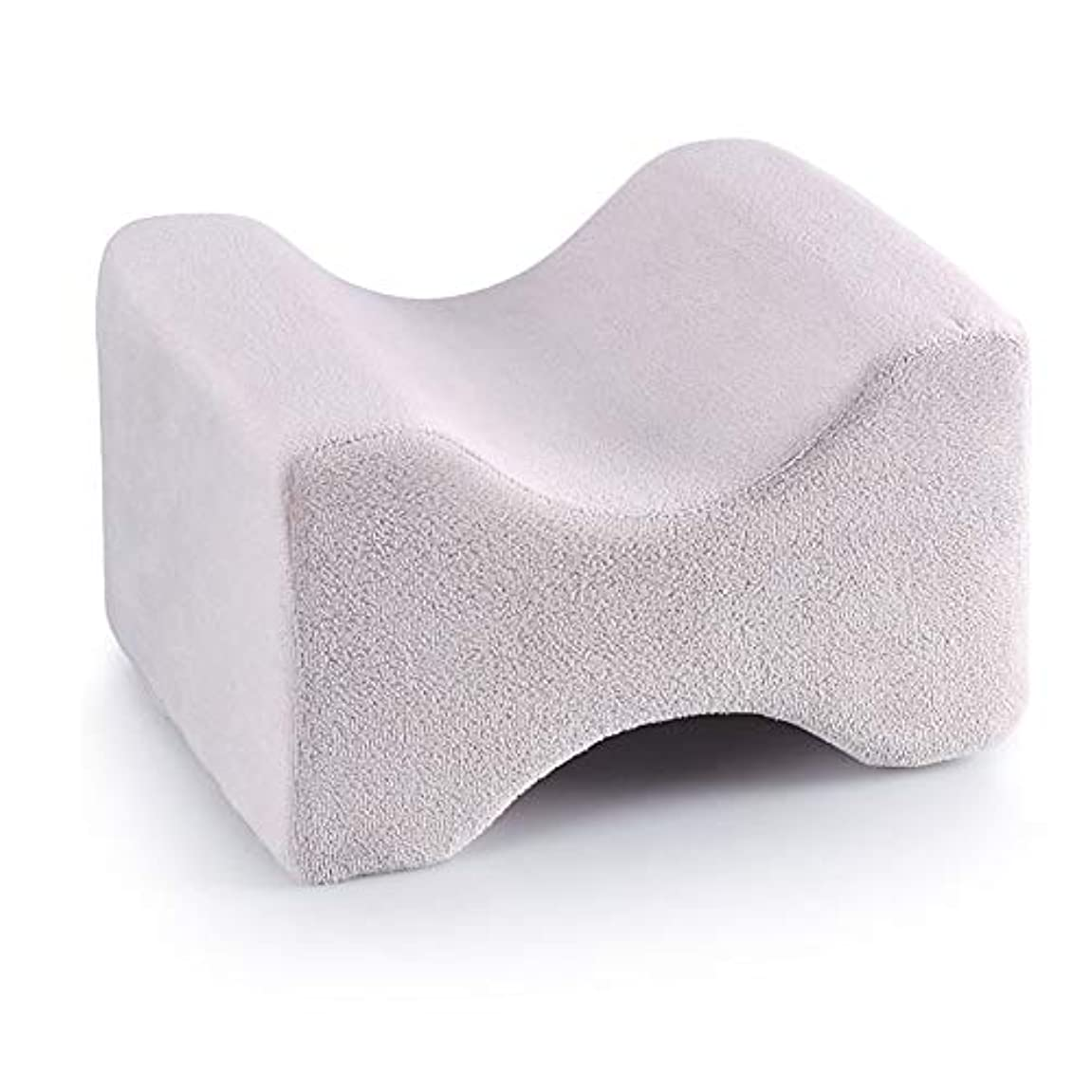 冷淡なダルセットレンダー3パック整形外科用膝枕用リリーフ、取り外し可能な洗えるカバー、低反発ウェッジの輪郭を促し、睡眠を促進し、血液循環を改善