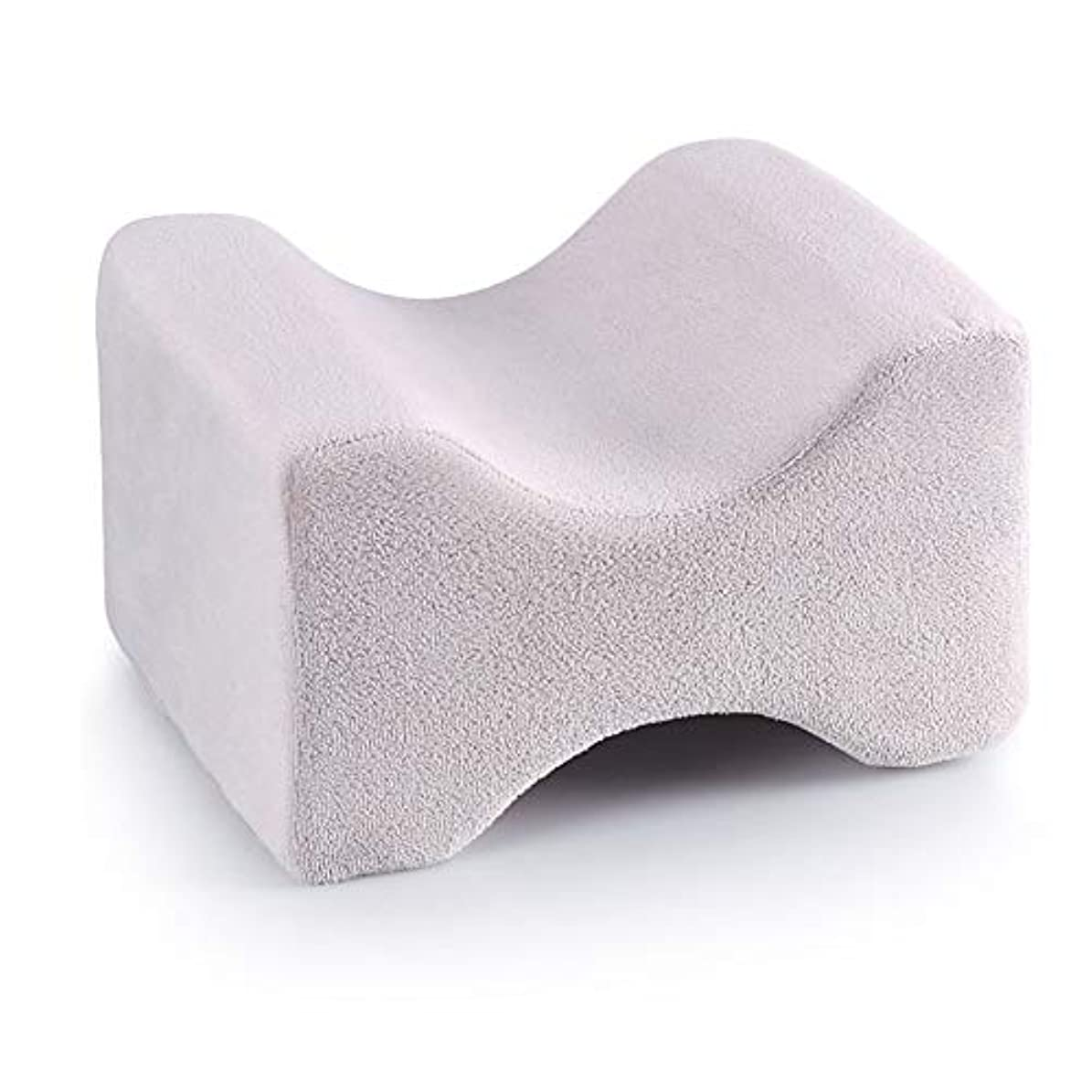 レッスン帽子製造業3パック整形外科用膝枕用リリーフ、取り外し可能な洗えるカバー、低反発ウェッジの輪郭を促し、睡眠を促進し、血液循環を改善