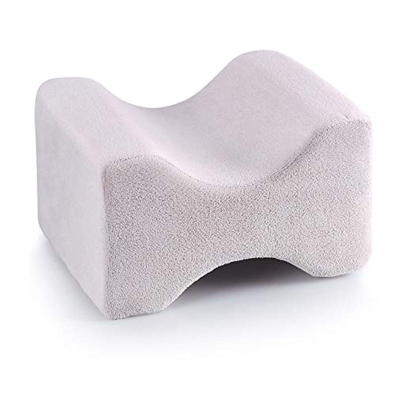 韓国野生追加3パック整形外科用膝枕用リリーフ、取り外し可能な洗えるカバー、低反発ウェッジの輪郭を促し、睡眠を促進し、血液循環を改善