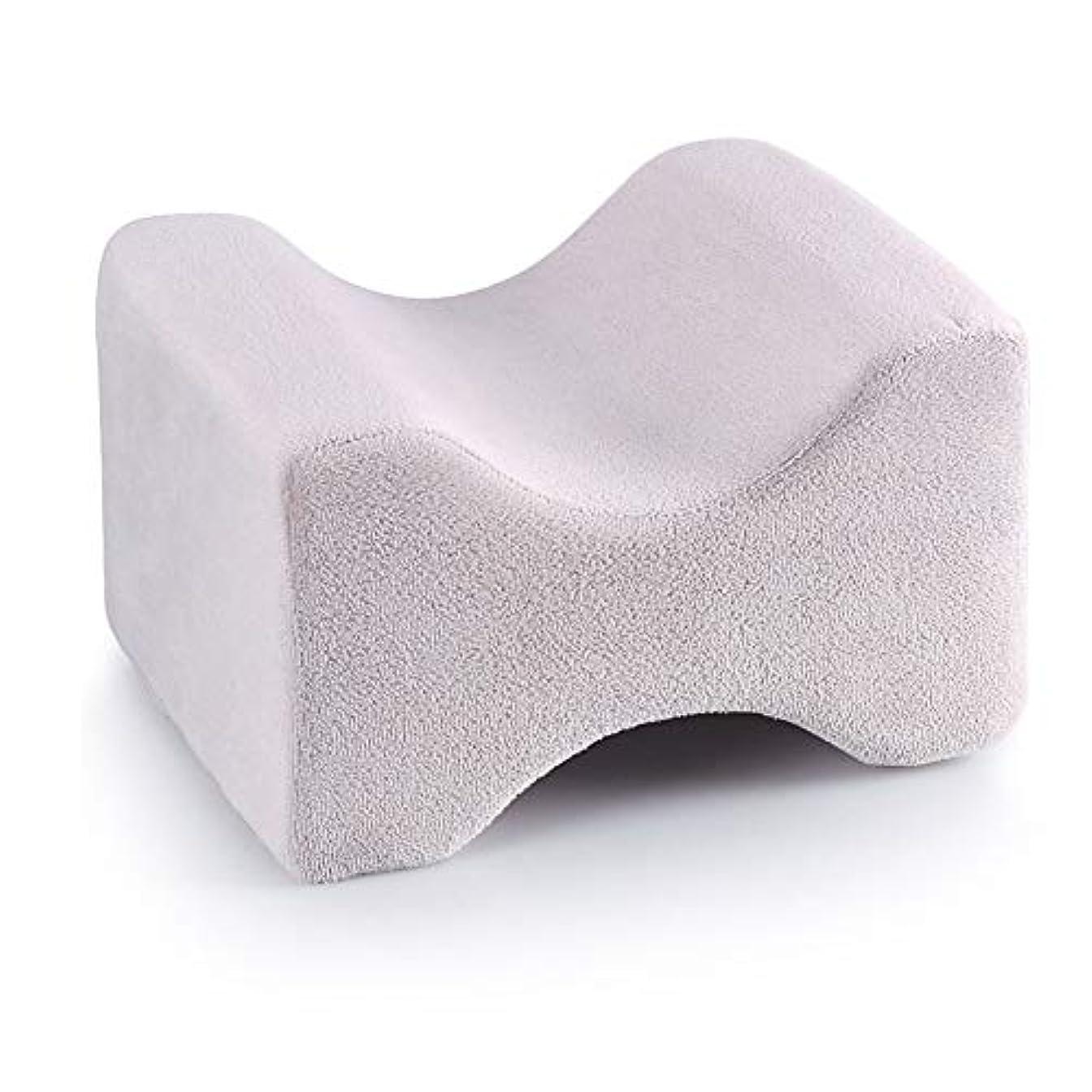 受信機結び目船3パック整形外科用膝枕用リリーフ、取り外し可能な洗えるカバー、低反発ウェッジの輪郭を促し、睡眠を促進し、血液循環を改善