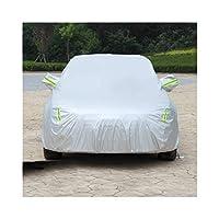 車のカバーS5 S7 M7 M3 M5に完全に対応全天候型全天候型オーニング防水シート防風性通気性UV保護防水防塵セダンカバー (Color : Silver, Size : S7)