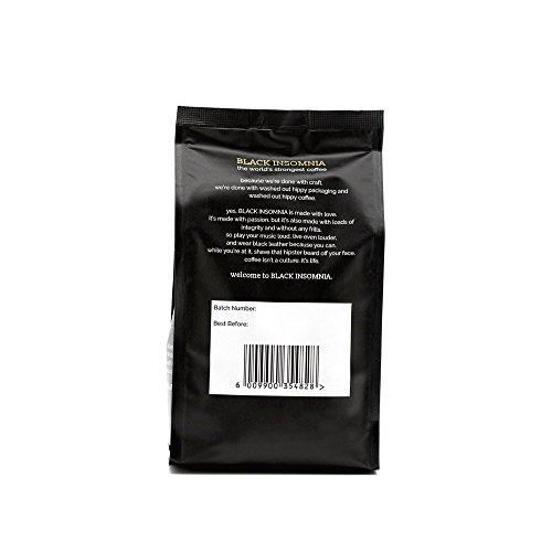 世界で最も濃いコーヒー ブラックインソムニアコーヒー (粉) [並行輸入品]
