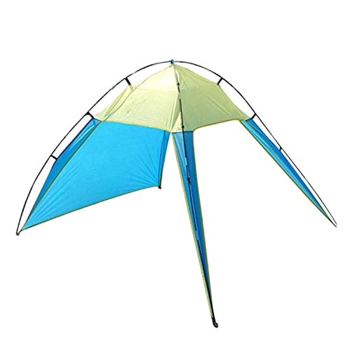 手つかずの真っ逆さまあらゆる種類のJVSISM ブルー&グリーン 屋外の亭テント浜のテント アウトドア 防水日よけ ピクニックハイキングキャンプ釣り ポータブル 簡単に取り付ける
