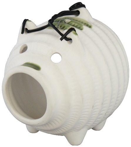 萬古焼 豚の蚊遣り 白豚 蚊取り 02938
