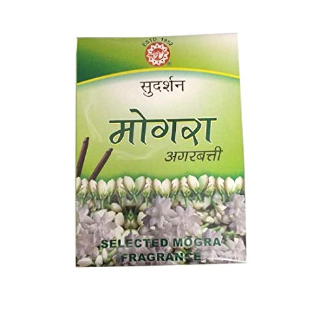 ドリンク歩く最大Sudarshan Mogra Agarbatti - 12 Sticks Packet 1 Box Fragrance Incense Sticks for Positivity & Freshness Lavender...