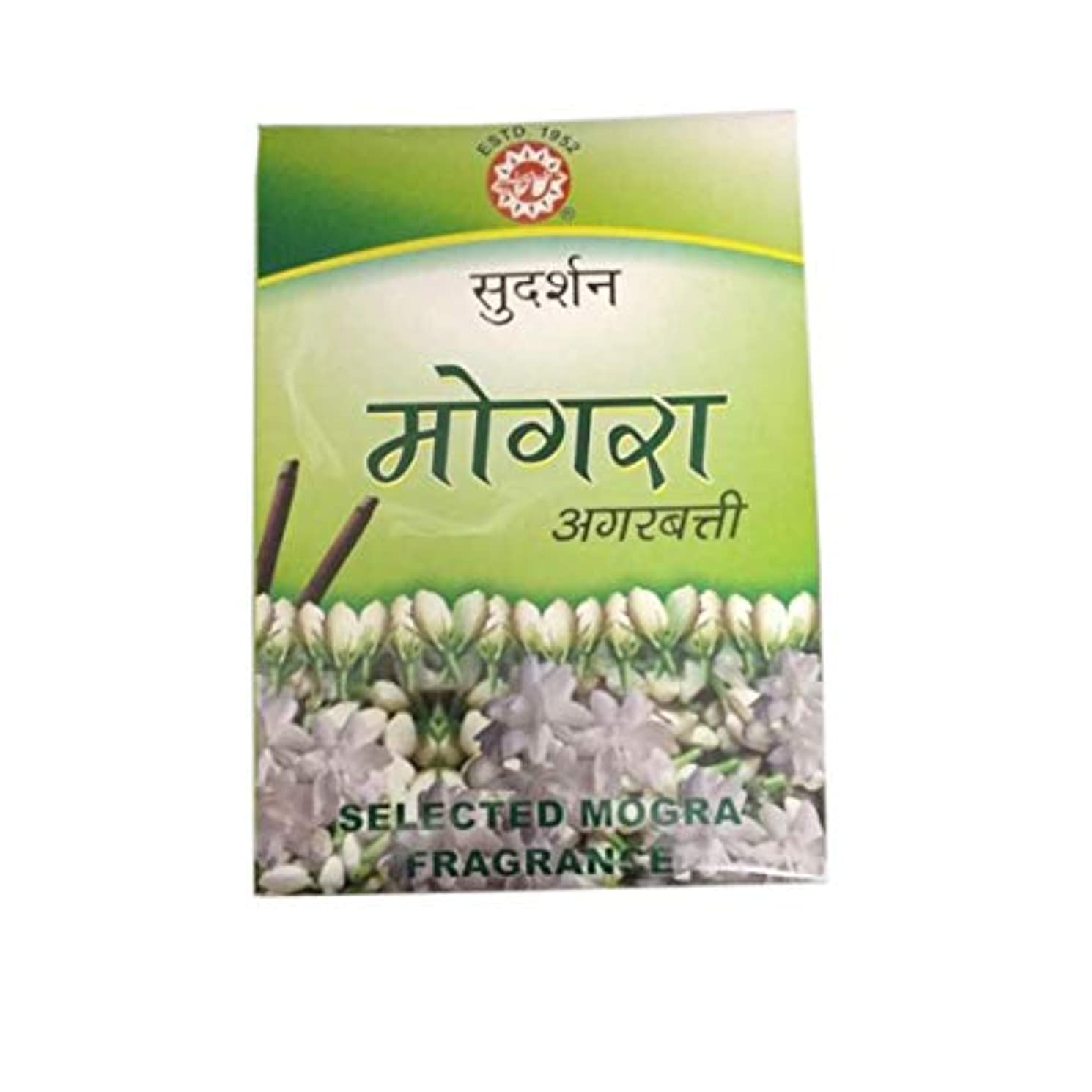 含意きゅうり上院議員Sudarshan Mogra Agarbatti - 12 Sticks Packet 1 Box Fragrance Incense Sticks for Positivity & Freshness Lavender...