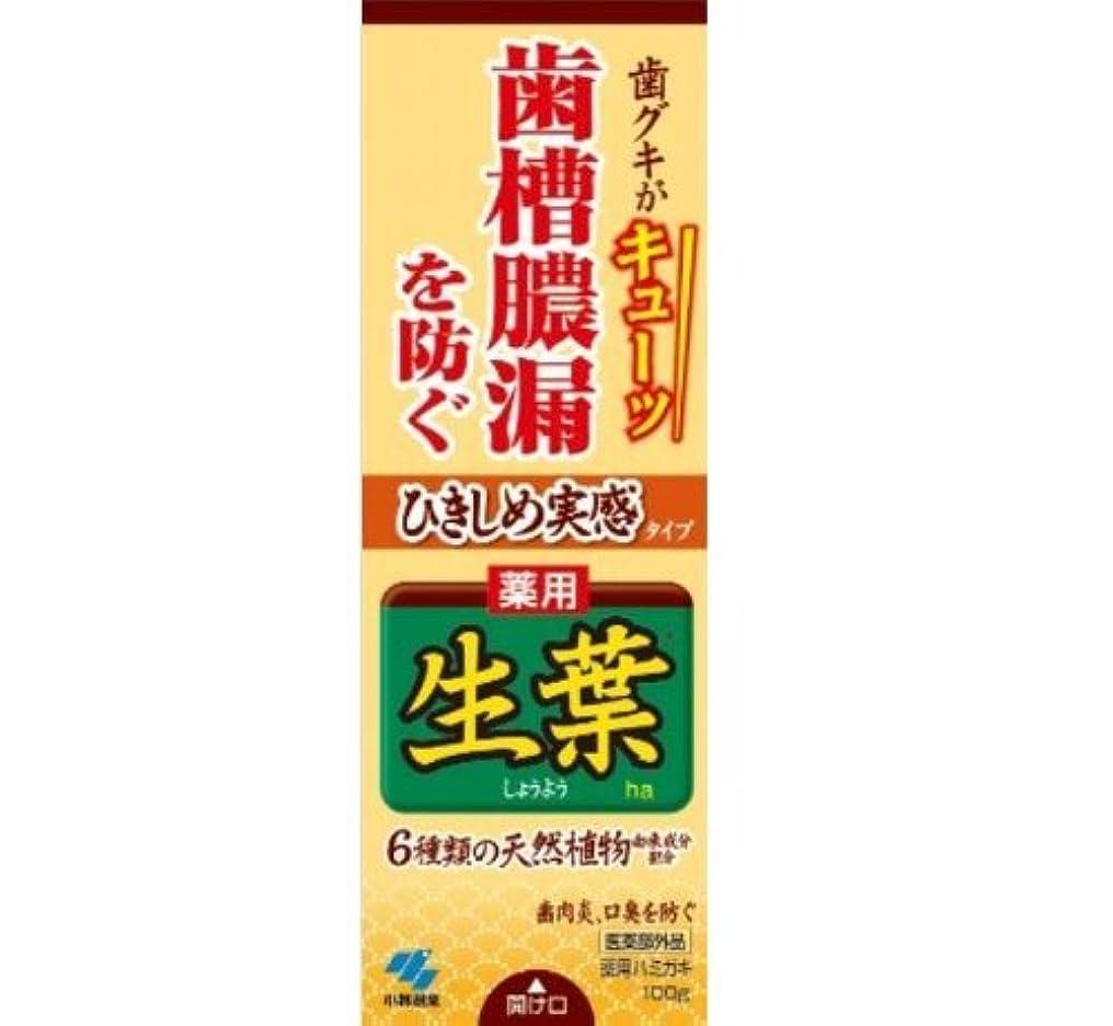 展開する忌避剤コントラストひきしめ生葉 100g【お得な27本セット】