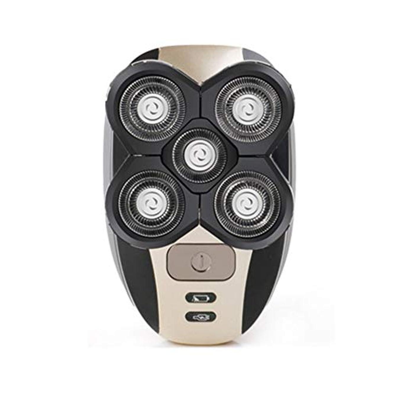 フルーティー起点アンソロジーシェーバーシェービングヘッド電気充電式かみそりクリッパーメンズトリミングセット-Innovationo