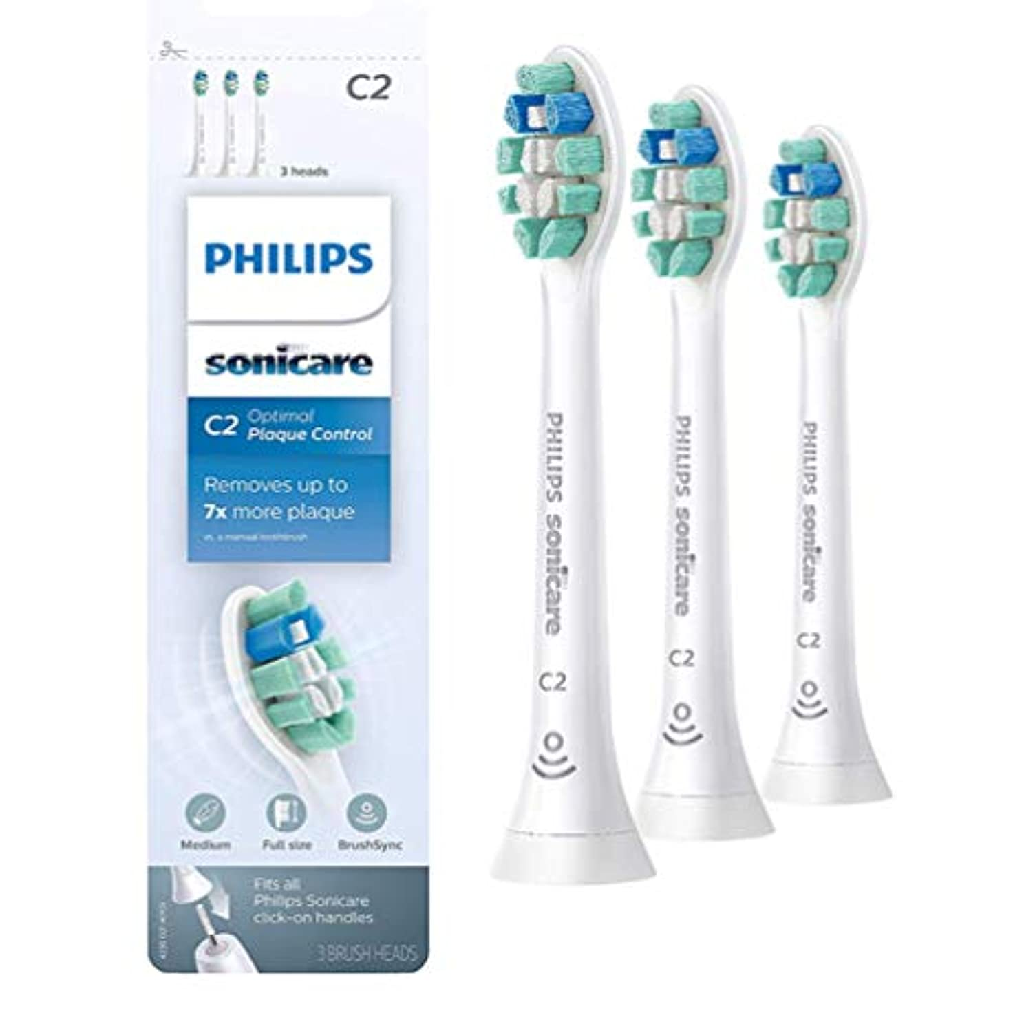 精神的に精通した促進する(正規品)Philips Sonicareソニッケアークリーンプラス (旧プラークディフェンス)電動歯ブラシHX9023 3本組