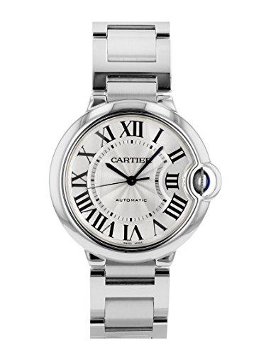 [カルティエ] CARTIER 腕時計 W6920046 バロンブルー ドゥ カルティエ ウォッチ MM 36mm ボーイズ [中古品] [並行輸入品]
