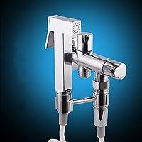 真鍮 ビデ蛇口,真鍮 トイレ蛇口,トイレのビデ噴霧器 手開催の真鍮ビデ噴霧器 Shattaf トイレ スプレーガン-A