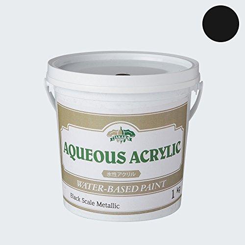 水性塗料 アイアン ツヤ消し メタリック ブラックスケールメタリック 1kg JQ ディッピンペイント Dippin' Paint