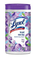 Lysol Disinfecting Wipes, Fresh Beginnings、80Count