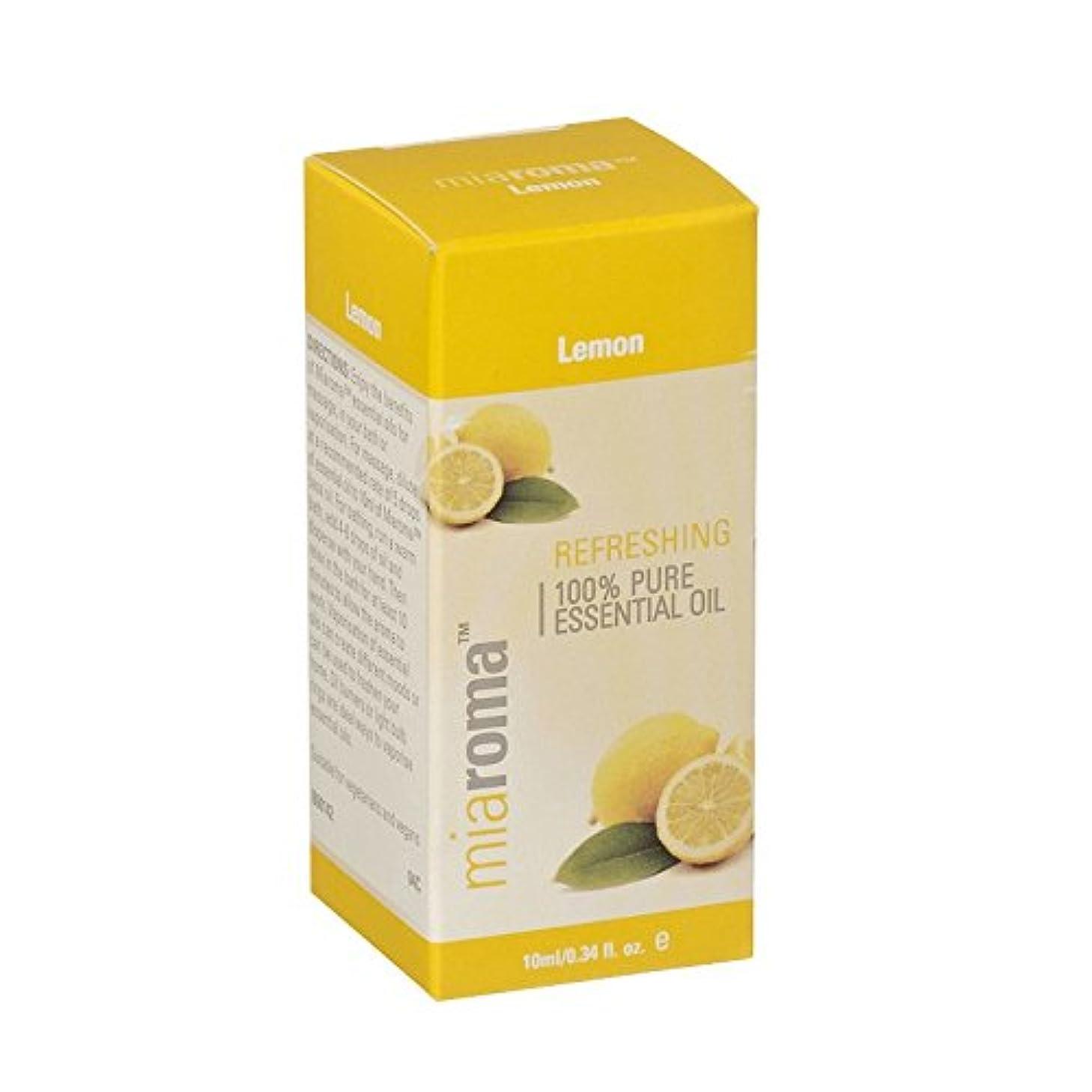 ふざけた休憩する脊椎Miaroma Lemon Pure Essential Oil (Pack of 2) - Miaromaレモン純粋なエッセンシャルオイル (x2) [並行輸入品]