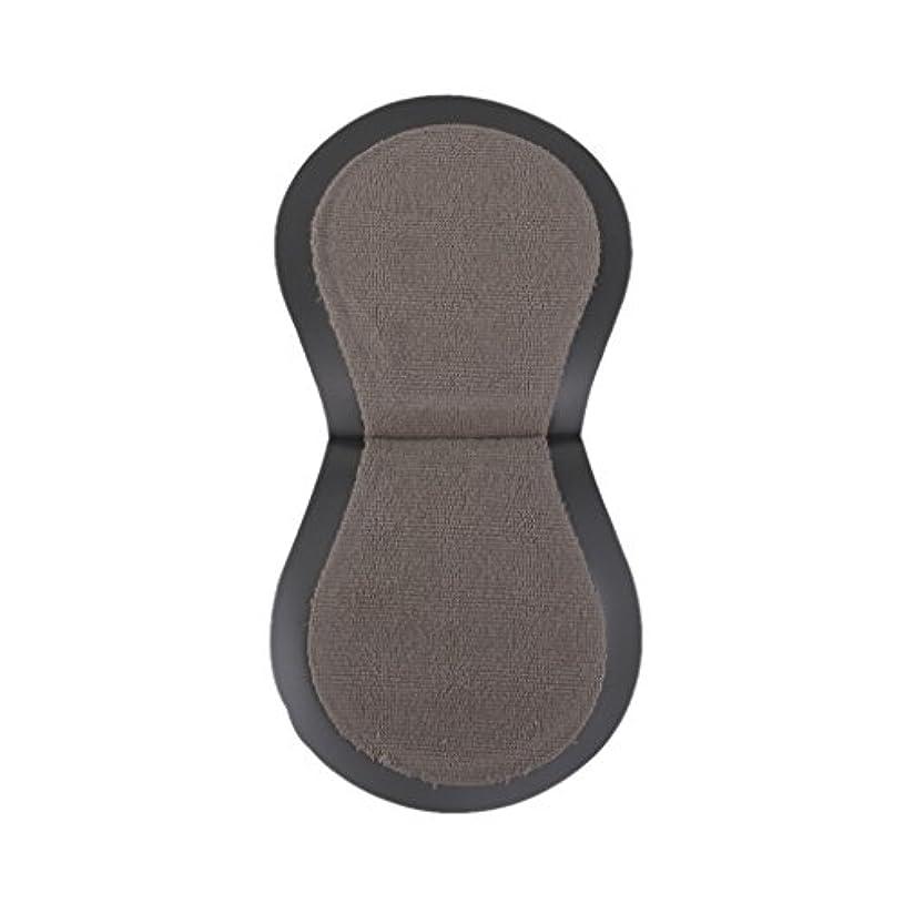 キラウエア山摂氏許可するゴルフ用 プラスチック製 タオル地 ボールクリーナー ポケットサイズ (グレー)